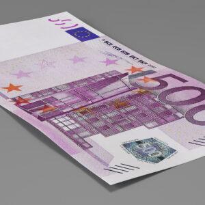 Euro 500 Billetes Billetes De Banco